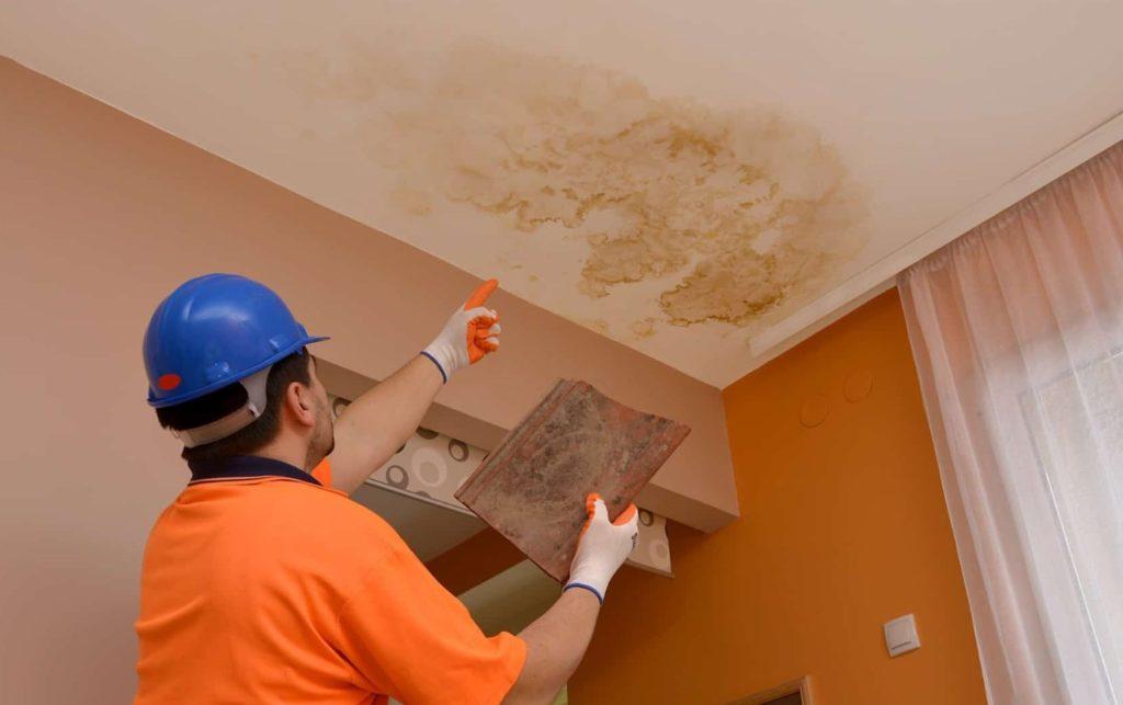 filtraciones de agua en techos