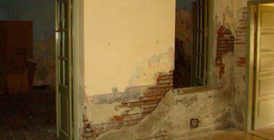 humedad en cimientos